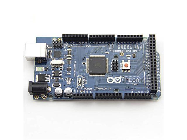 Arduino Mega 2560 ATmega2560-16AU Board  ( Arduino compatible ) + Free USB Cable