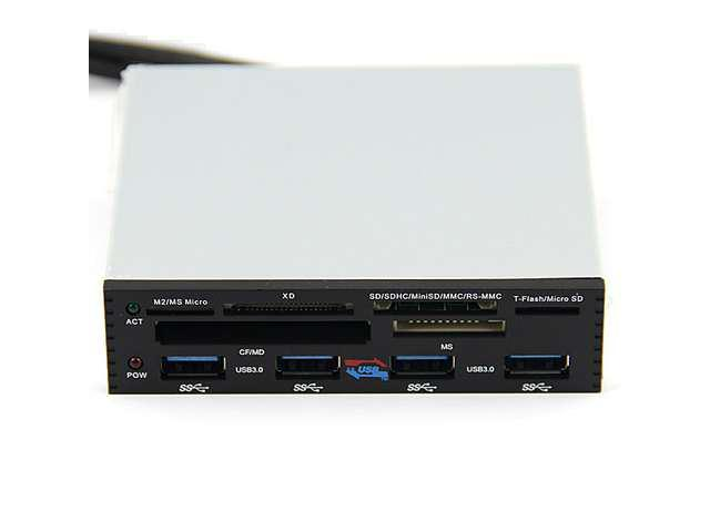 Baaqii A008 PCI-E To USB 3.0 4 port Card Reader Converter Adapter