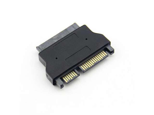 "Baaqii A061 1.8"" Micro SATA HDD SSD 16 to 22 Pin 2.5"" SATA Adapter Converter for SSD New A06"