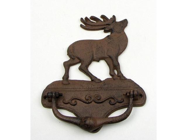 Elk Door Cast Iron Knocker-0184S-0019