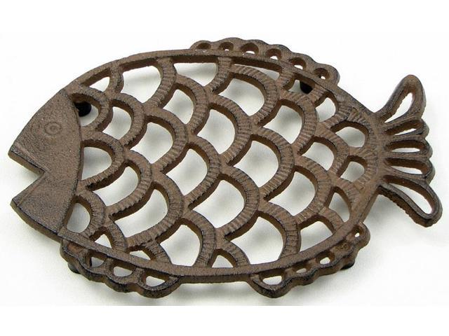 Fish Trivet/Wall Art-049-22231