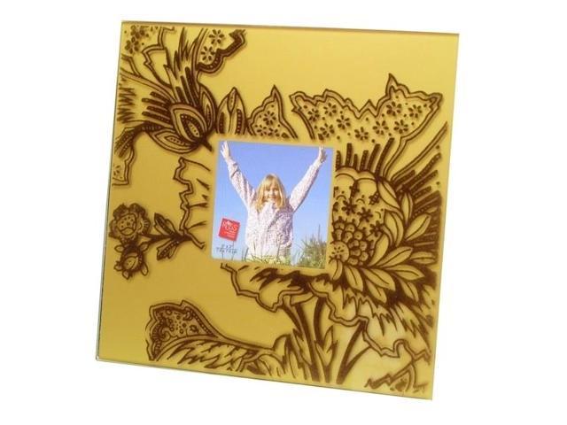 Velvet Square Frame - Gold-0193-36439