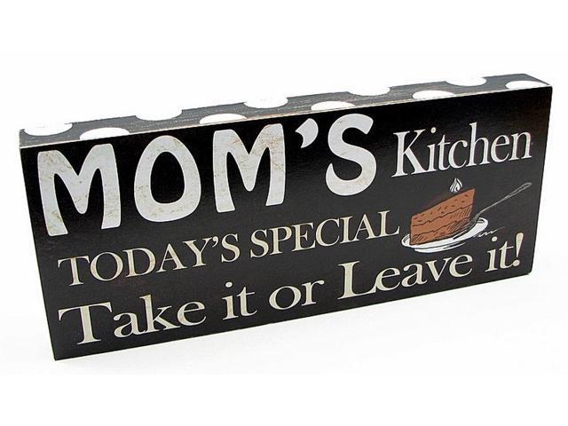 Mom's Kitchen Plaque-049-22340