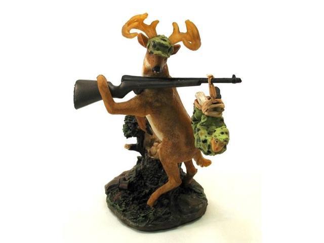 Deer Gets Hunter Figure-049-13885