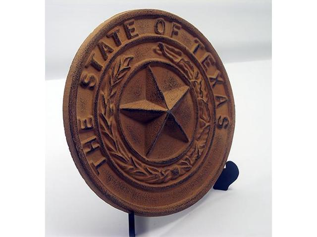 Cast Iron Large Texas State Seal-0170S-05118
