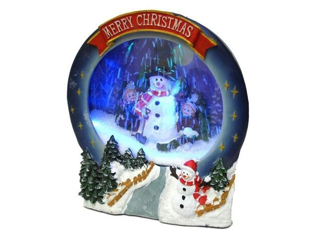 Christmas Musical Snowing Frame-049-60036