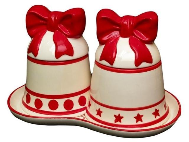Christmas Bell Canister Set-0179-0082