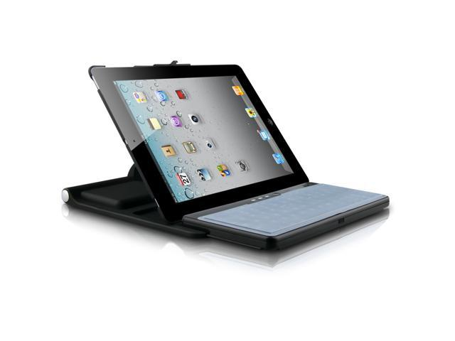 Naztech All-in-One Bluetooth Keyboard for Apple iPad 2 Black Retail Pkg.