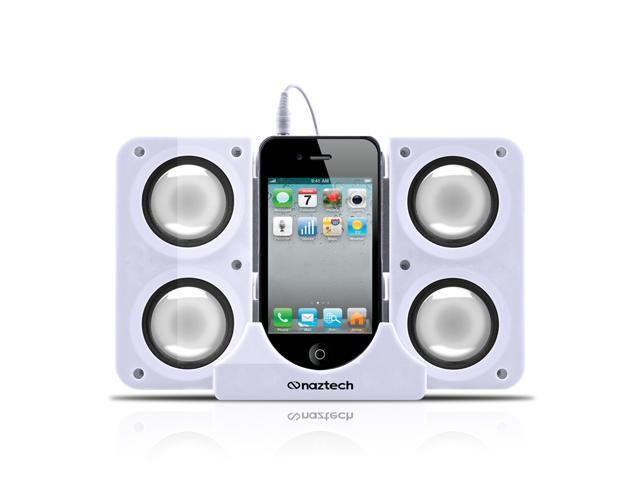 Naztech N40 Portable Speaker Dock for iPhones iPads and 3.5 Audio