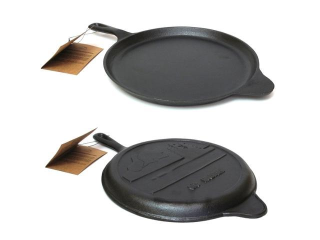 IWGAC 0166-10147 Old Mountain Cast Iron Preseasoned Round Griddle 10.5 in.