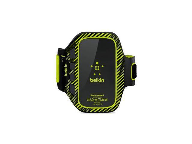BELKIN EaseFit Plus Black/Lime Armband For Samsung Galaxy S III F8M409TTC02