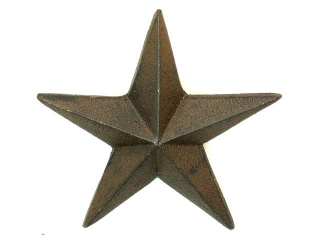 Cast Iron Nail Star - X-Large Set of 6-0170S-02109