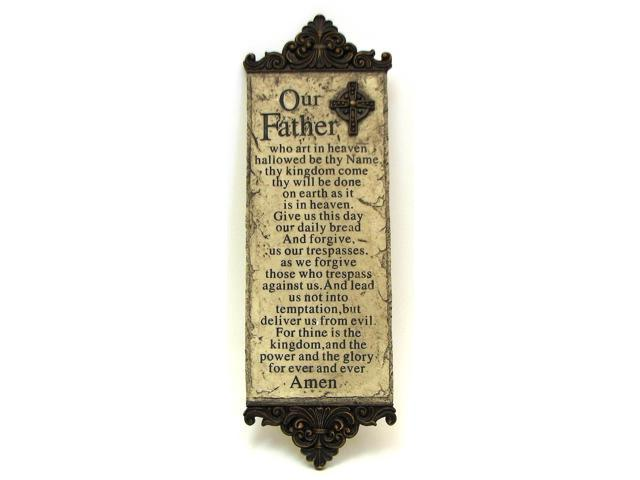 Lord's Prayer Wall Plaque-049-26812