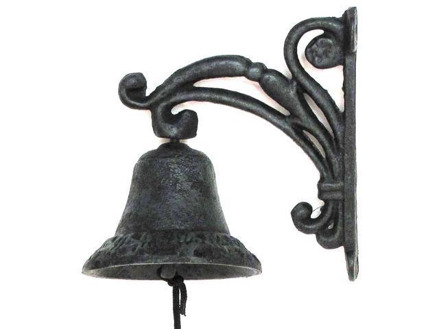 Cast Iron Vine Bell-0170S-13620