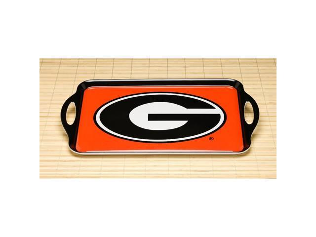 BSI PRODUCTS 38007 Melamine Serving Tray- Georgia Bulldogs