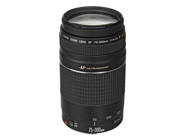 Canon EF 75-300mm f/4-5.6 III USM Telephoto Zoom Lens for Canon SLR Cameras USA 6472A002
