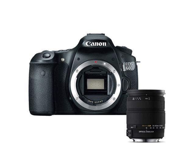 Canon 60D: EOS 60D 18MP CMOS Digital SLR Camera w/ 3