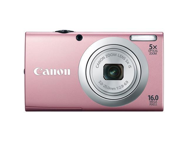 CANON A2400: Canon PowerShot A2400 IS Digital Camera with 5x Optical Image Stabilized Zoom 28mm Wide-Angle Lens with 720p Full HD Video Recording and 2.7-Inch Touch Panel LCD (Silver)