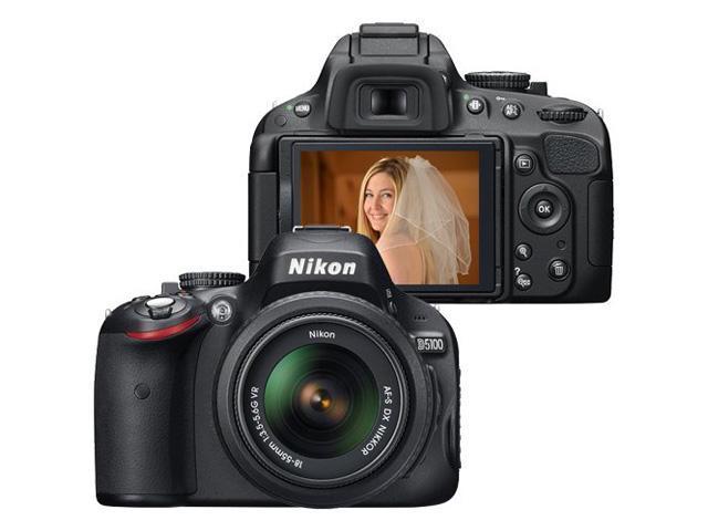 Nikon D5100 Digital SLR Camera with AF-S DX NIKKOR 18-55mm f/3.5-5.6G VR lens and AF-S DX VR Zoom-Nikkor 55-200mm f/4-5.6G IF-ED Lens