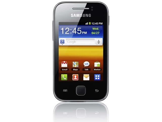 Samsung Galaxy S5360 Y Factory Unlocked GSM Quad-Band Smartphone - Grey