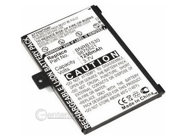 Battery for Barnes & Noble Nook 005 Ebook eReader And BNRB1530 BNRZ1000 9BS11GTFF10B3 9875521 Reader