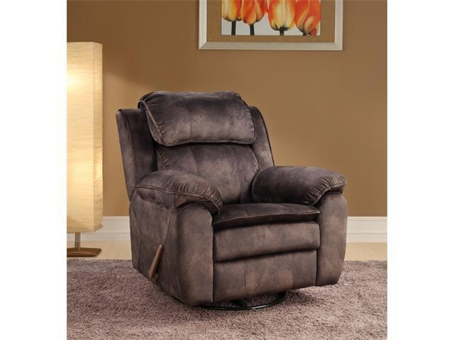 Katie Swivel Glider Recliner - Sharp Cocoa