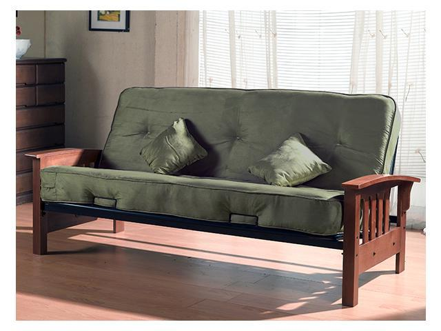 Complete Futon With 8-Inch Pocket Coil Mattress
