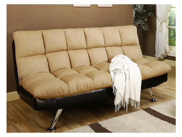 Klik Klak Sofa Sleeper with Tufted Stitching