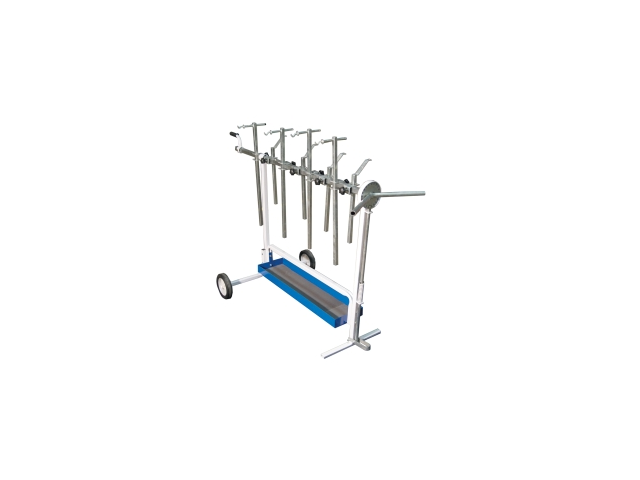 Universal Rotating Super Work Stand for Paint and Body