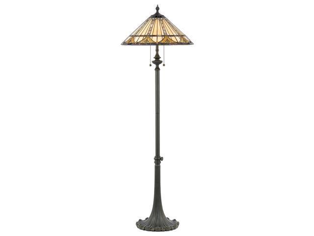 Quoizel 2 Light Genevieve Tiffany Floor Lamp - TF482F