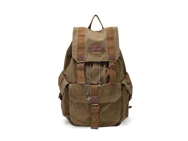 Gootium 21101AMG Large Canvas Backpack - Large Size - Army Green