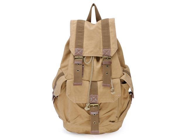 Otium 21101KA-S Canvas Backpack - Small Size - Khaki
