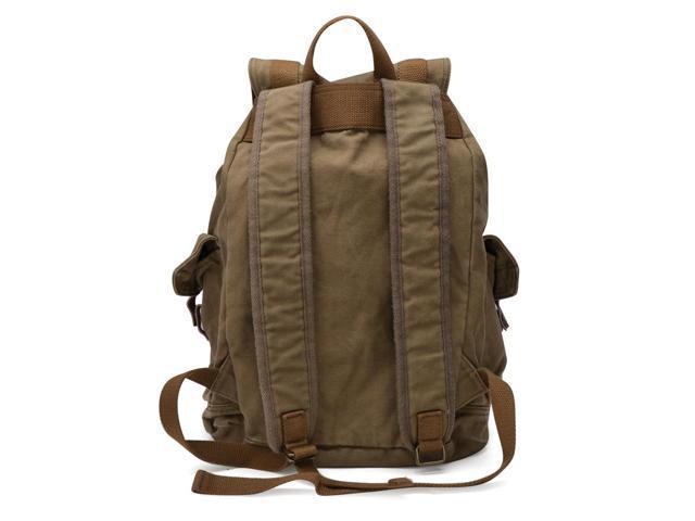 Otium 21101AMG Large Canvas Backpack - Large Size - Army Green
