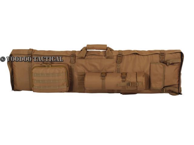 voodoo tactical shooting mat and rifle drag bag