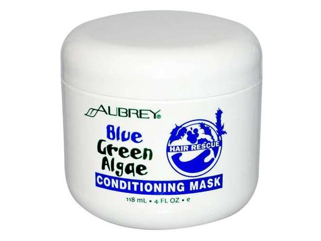 Blue Green Algae Hair Rescue Conditioning Mask - Aubrey Organics - 4 oz - Cream