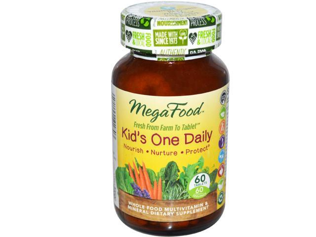 Kid's One Daily - MegaFood - 60 - Tablet
