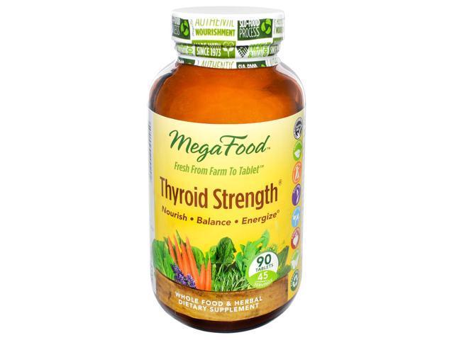 Thyroid Strength - MegaFood - 90 - Tablet
