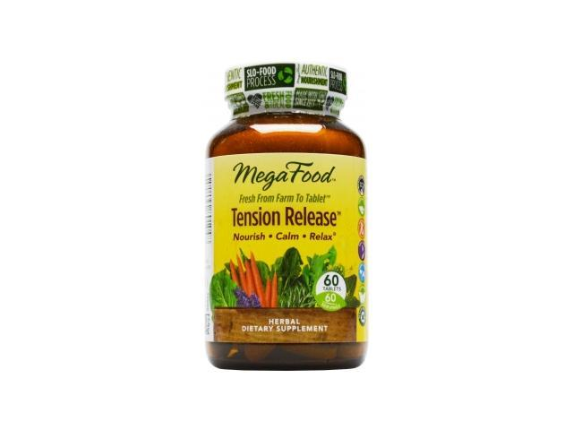 MycoSynergy Tension Release - MegaFood - 60 - Tablet