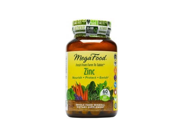 Zinc DailyFoods - Vegetarian - MegaFood - 60 - Tablet