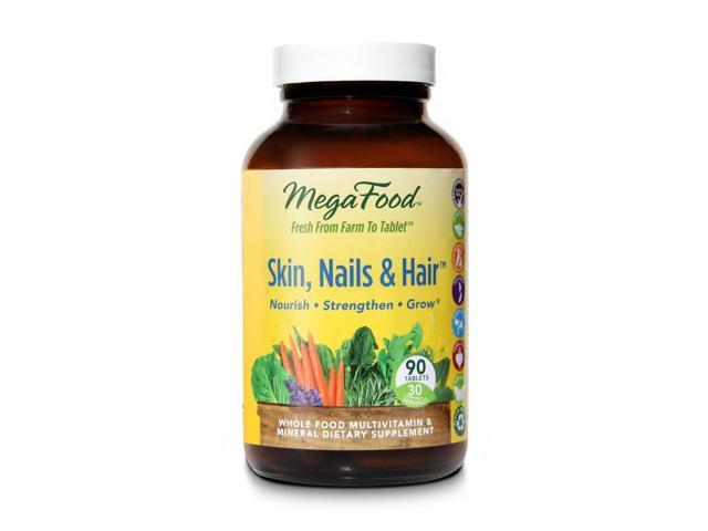 Skin, Nails & Hair DailyFoods - Vegetarian - MegaFood - 90 - Tablet