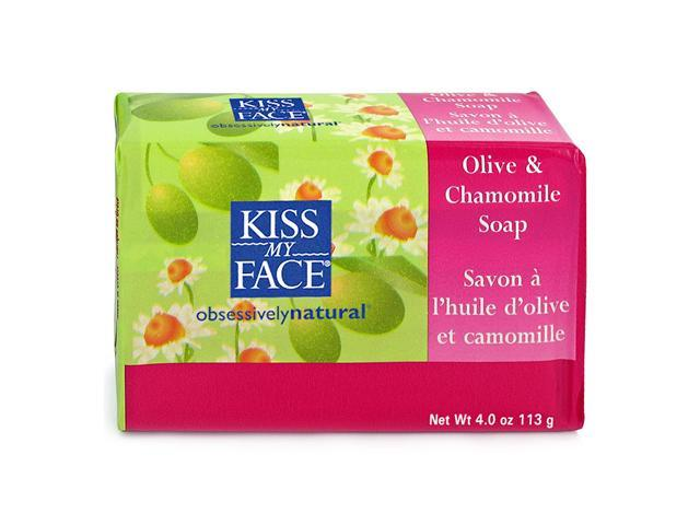 Bar Soap-Chamomile Olive - Kiss My Face - 8 oz - Bar Soap