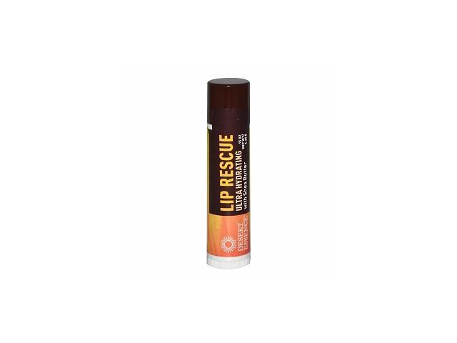 Lip Rescue-UltraHydryting with Shea Butter - Desert Essence - 0.15 oz - Tube
