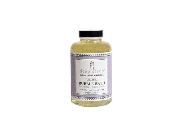 Lavender Chamomile Bubble Bath - Deep Steep - 17 oz - Liquid