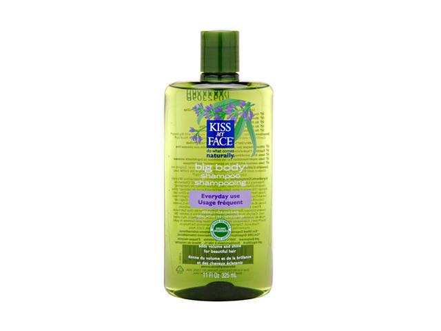 Organic Hair Care Big Body Shampoo - Kiss My Face - 11 oz - Liquid