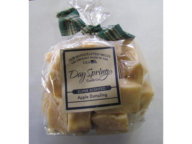 Warm Apple Dumpling Scent Candle Melt Dayspring 6 Ounce Bag