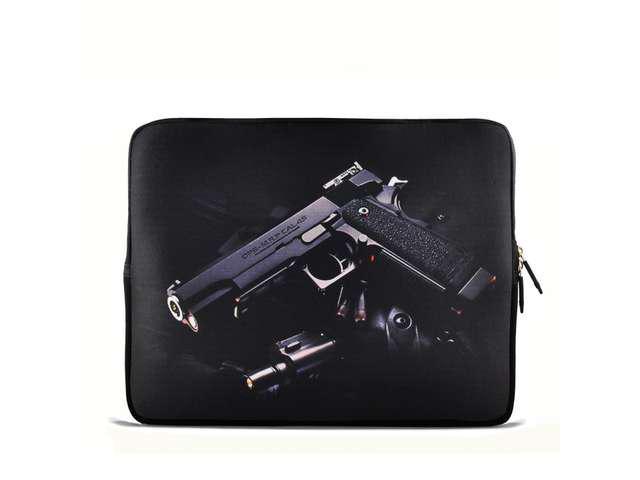 "Desert eagle Gun 9.7"" 10"" 10.2"" inch Laptop Netbook Tablet Case Sleeve Carrying bag For iPad/Asus EeePC/Acer Aspire one/Dell ..."