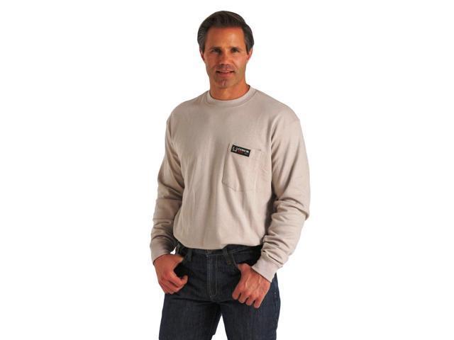 Cinch Western Shirt Mens L S Wrx Flame Resistant Xl Gray