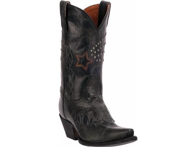 Excellent Dan Post Boots Cecilia DP3547 In Black Leather For Women