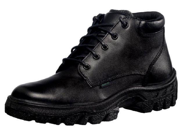 Rocky Work Boots Mens TMC Postal Leather Chukka 8 EW Black FQ0005005