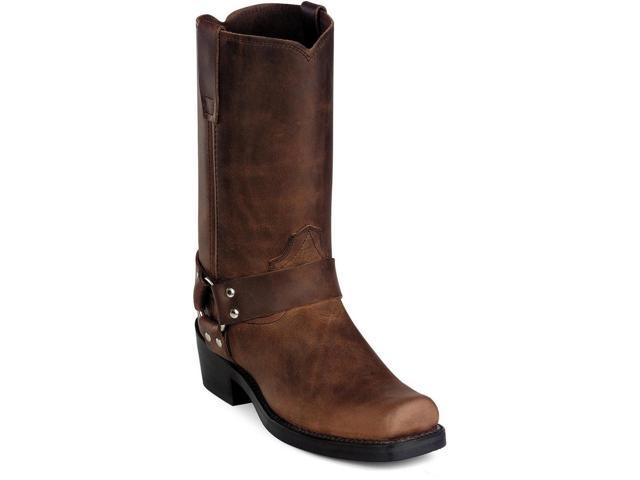 "Durango Motorcycle Boots Mens 11"" Harness Strider 14 D Brown DB594"